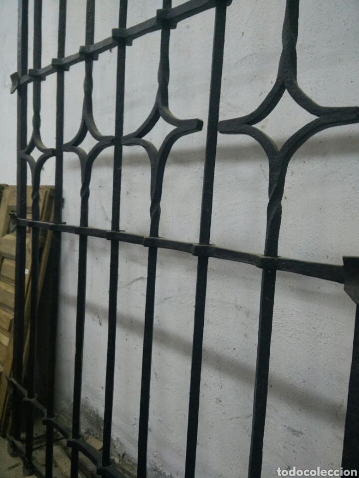 Antigüedades: Antigua reja de forja - Foto 3 - 115368695
