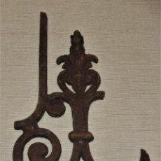Antigüedades: FRAGMENTO DE REJA DE HIERRO FORJADO. Lote 115407027