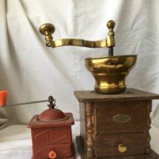 Antigüedades: MOLINILLO DE CAFÉ DE GRAN TAMAÑO. Lote 115454818