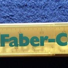 Antigüedades: FABER CASTELL 153-B. REGLA TRIPLE DECIMETRO AÑOS 80 CON SU ESTUCHE. Lote 142669228