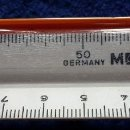 Antigüedades: GERMANY MOR Nº 1632. REGLA TRIPLE DECIMETRO AÑOS 80 CON SU ESTUCHE. Lote 115459015