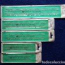 Antigüedades: GERMANY MOR DIN 1451. REGLAS DE LETRAS Y NÚMERO DE 3,4,5,6 Y 8 MM AÑOS 80 CON SU FUNDA. Lote 115459659