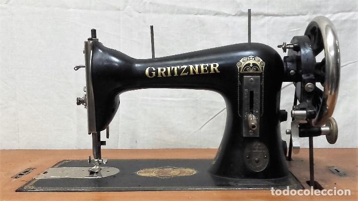 Antigüedades: Maquina de coser GRITZNER DURLACH (como nueva!!!) - Foto 2 - 115497107