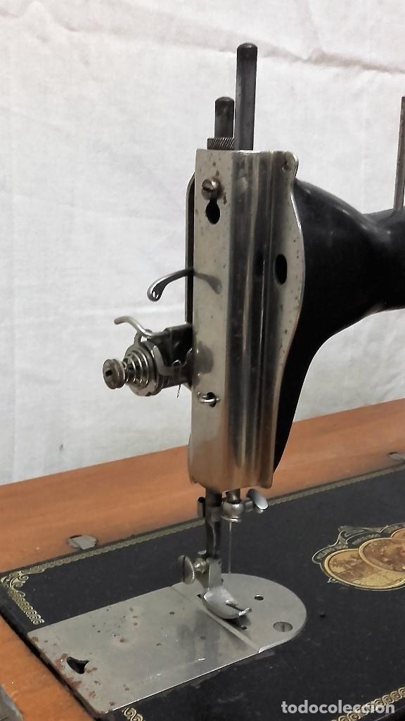 Antigüedades: Maquina de coser GRITZNER DURLACH (como nueva!!!) - Foto 4 - 115497107