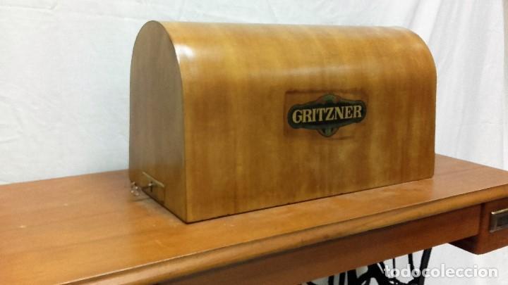 Antigüedades: Maquina de coser GRITZNER DURLACH (como nueva!!!) - Foto 6 - 115497107