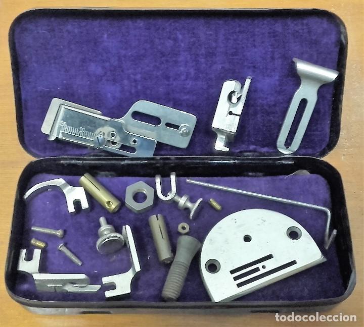 Antigüedades: Maquina de coser GRITZNER DURLACH (como nueva!!!) - Foto 12 - 115497107