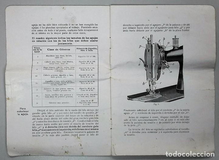 Antigüedades: Maquina de coser GRITZNER DURLACH (como nueva!!!) - Foto 15 - 115497107