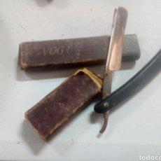 Antigüedades: ANTIGUA NAVAJA DE AFEITAR VOGUS. Lote 115521122