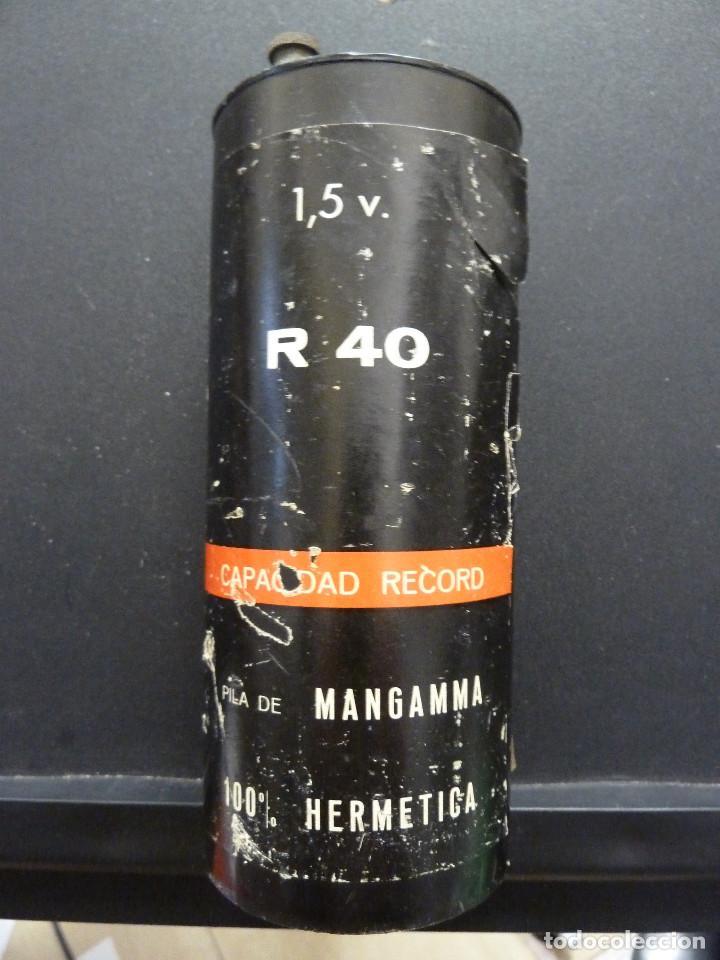 Antigüedades: PILA DE MANGAMMA R40 - TXIMIST - CEGASA - GRAN POTENCIA - Foto 3 - 115532631