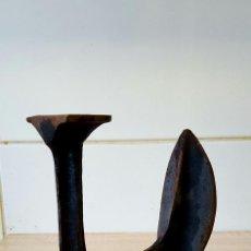 Antigüedades: YUNQUE DE ZAPATERO. Lote 115536159