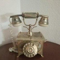 Teléfonos: REPRODUCCION TELEFONO ANTIGUO 29X24X18. Lote 115548247