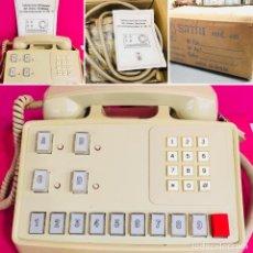 Teléfonos: TELEFONO CENTRALITA INTERCOMUNICADOR AÑOS 60 TYM (TELEFONIA Y ELECTRONICA) CON CAJA Y MANUAL. Lote 115581179