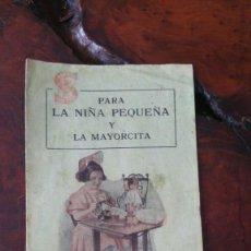 Antigüedades: CATALOGO PUBLICIDAD NUMERO 20 SIGMA - PARA NIÑA PEQUEÑA Y MAYORCITA. Lote 115582419
