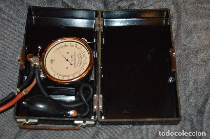 Antigüedades: PRECIOSO Y VINTAGE - TENSIÓMETRO EN ESTUCHE DE BAQUELITA - MUY BUEN ESTADO - DR H VON RECKLINGHAUSEN - Foto 15 - 115612999