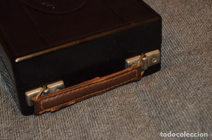 Antigüedades: PRECIOSO Y VINTAGE - TENSIÓMETRO EN ESTUCHE DE BAQUELITA - MUY BUEN ESTADO - DR H VON RECKLINGHAUSEN - Foto 20 - 115612999