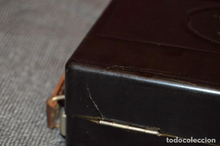 Antigüedades: PRECIOSO Y VINTAGE - TENSIÓMETRO EN ESTUCHE DE BAQUELITA - MUY BUEN ESTADO - DR H VON RECKLINGHAUSEN - Foto 23 - 115612999