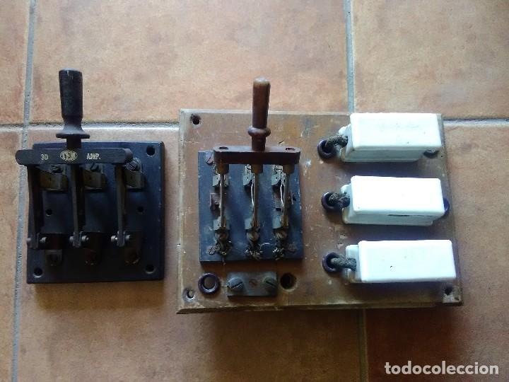 CUADRO ELÉCTRICO ANTIGUO (Antigüedades - Técnicas - Herramientas Profesionales - Electricidad)