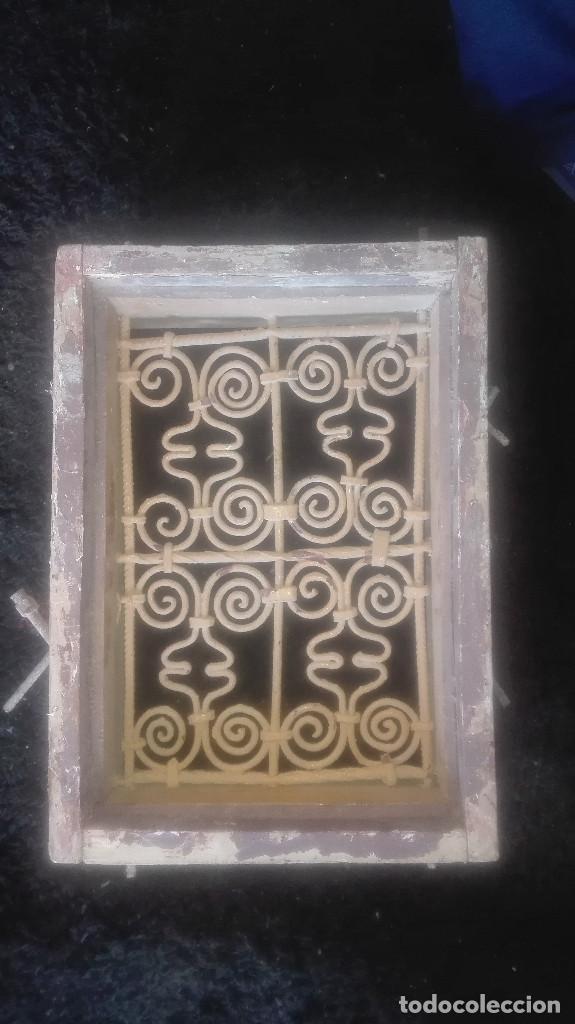 PRECIOSA REJA ARTÍSTICA.ANTIGUA (Antigüedades - Técnicas - Cerrajería y Forja - Varios Cerrajería y Forja Antigua)