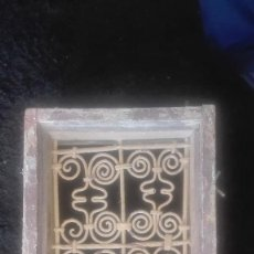 Antigüedades: PRECIOSA REJA ARTÍSTICA.ANTIGUA. Lote 115694767