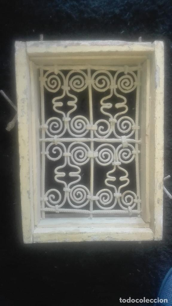 Antigüedades: preciosa reja artística.antigua - Foto 2 - 115694767