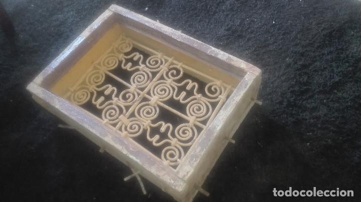 Antigüedades: preciosa reja artística.antigua - Foto 7 - 115694767