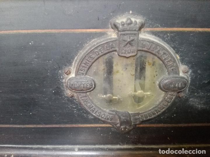 Antigüedades: Balanza beranger 1850,,,todo original - Foto 3 - 115704399