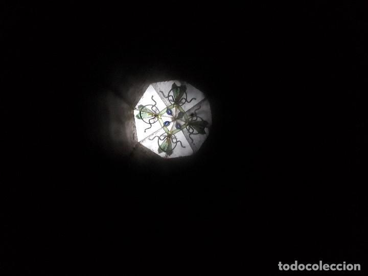 ANTIGUO CALEDOSCOPIO DE CARTON FORRADO, FINALES XIX PRINCIPIOS DEL XX, MIRAR LAS FOTOS. (Antigüedades - Técnicas - Otros Instrumentos Ópticos Antiguos)