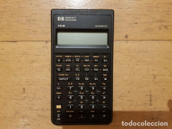 CALCULADORA HEWLETT PACKARD 10B BUSINESS (Antigüedades - Técnicas - Aparatos de Cálculo - Calculadoras Antiguas)
