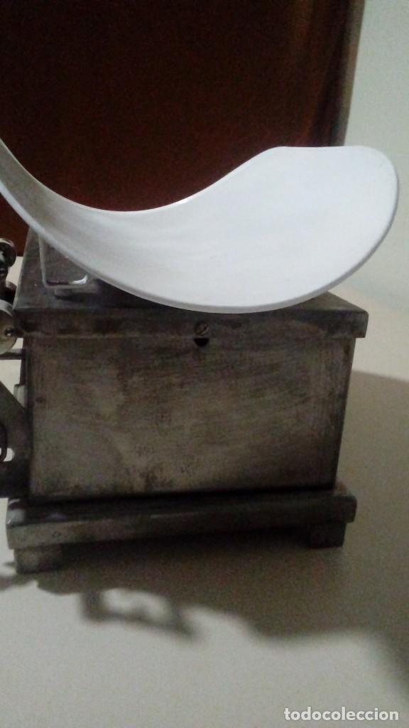 Antigüedades: Báscula pesa-bebes Cornier - Foto 2 - 116163739