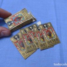 Antigüedades: * LOTE DE CAJA DE HOJAS DE AFEITAR, ORIGINALES. ZX. Lote 116217907