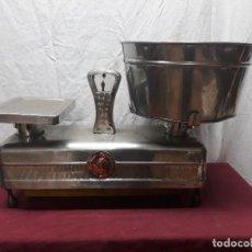 Antigüedades: BASCULA...BALANZA...PESO... LEUNAM 15 KG. LISBOA. MED XX. Lote 116261407
