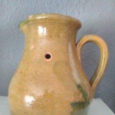 Antigüedades: ANTIGUA JARRA DE MEDIR LIQUIDOS. JARRA DE BODEGA. MIDE 15 CM DE ALTURA.. Lote 116264847