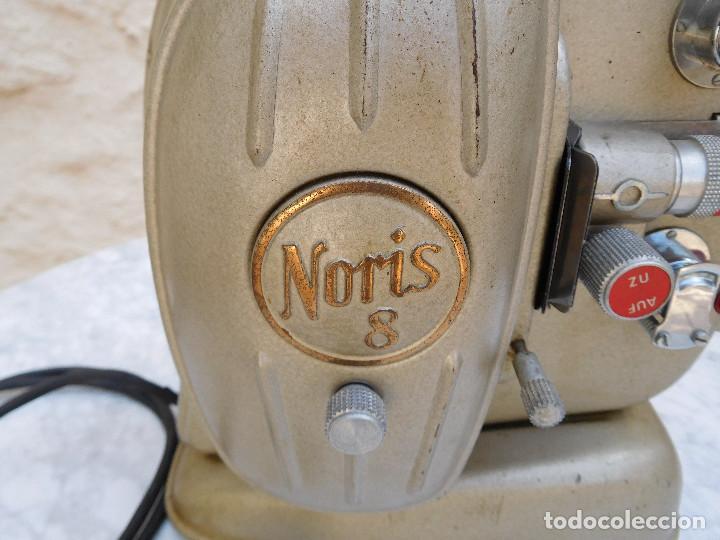 Antigüedades: Proyector antiguo años 60 super 8 Noris - Foto 2 - 116276795
