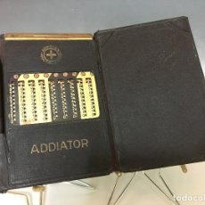 Antigüedades: CALCULADORA ADDIATOR - ADDITION MULTIPLICATION. Lote 116388091