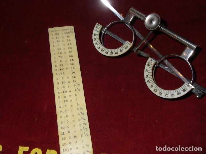 Antigüedades: Maletín con instrumentos de graduación y juegos de lentes de Óptica, siglo XIX - Foto 7 - 116391267