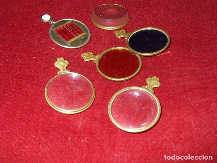 Antigüedades: Maletín con instrumentos de graduación y juegos de lentes de Óptica, siglo XIX - Foto 8 - 116391267