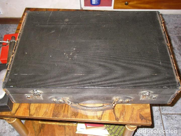 Antigüedades: Maletín con instrumentos de graduación y juegos de lentes de Óptica, siglo XIX - Foto 9 - 116391267