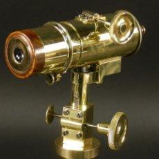 Antigüedades: ESPECTACULAR TELESCOPIO CATALEJO DE SOBREMESA SIGLO XIX. Lote 116391995