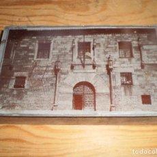 Antigüedades: ANTIGUA PLANCHA PARA IMPRESION FACHADA. Lote 116535323