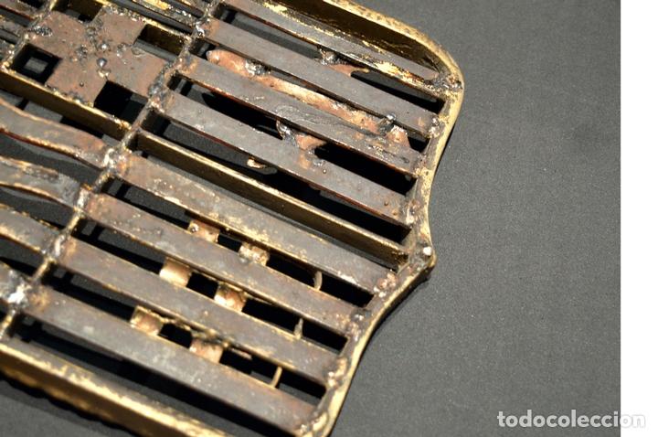 Antigüedades: GRAN ESCUDO CATALUNYA EN FORJA DE HIERRO BARCELONA TARRAGONA LLEIDA GIRONA - Foto 11 - 53714874