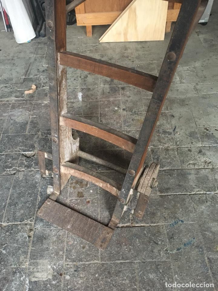 Antigüedades: Carretilla industrial - Foto 2 - 116755366