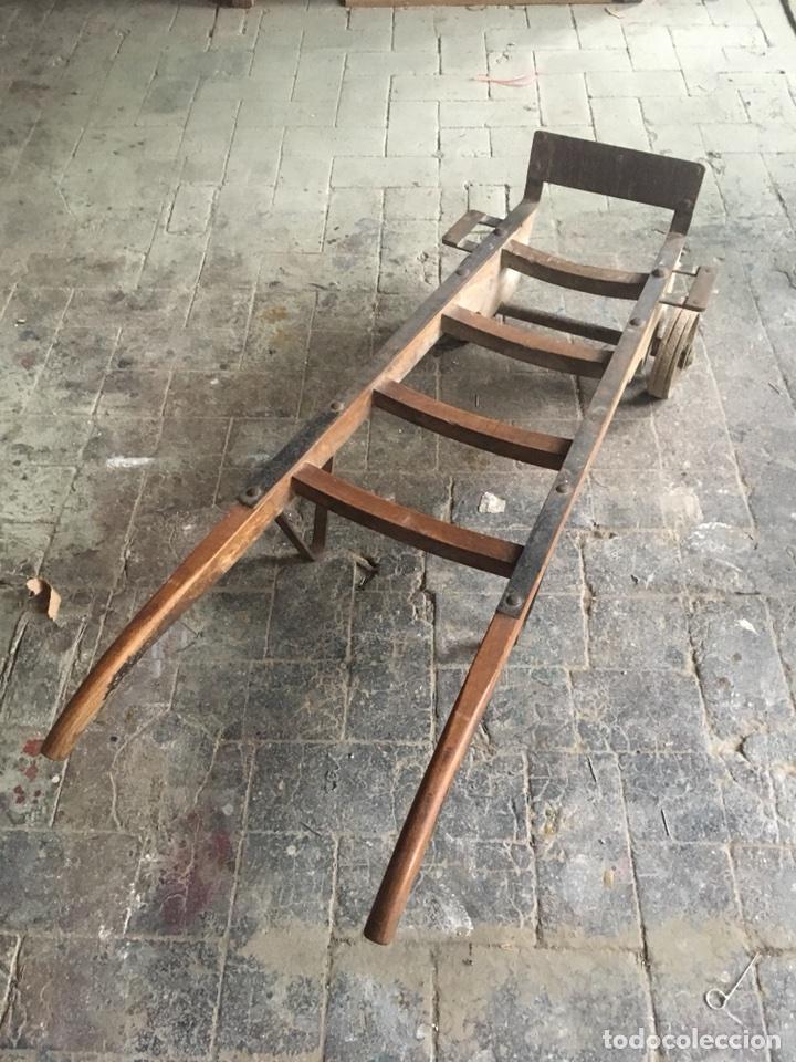Antigüedades: Carretilla industrial - Foto 3 - 116755366