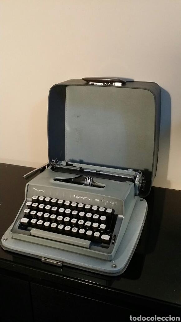 Antigüedades: Máquina de escribir Remington travel riter deluxe - Foto 5 - 116768112