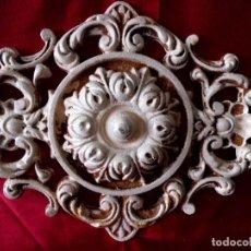 Antigüedades: ADORNO CENTRAL DE HIERRO. Lote 116856311