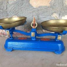 Antigüedades: BASCULA ANTIGUA MARCA VULCANO DE 3 KG.. Lote 116864207