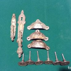 Antigüedades: LOTE TIRADORES ANTIGUOS. Lote 116870755