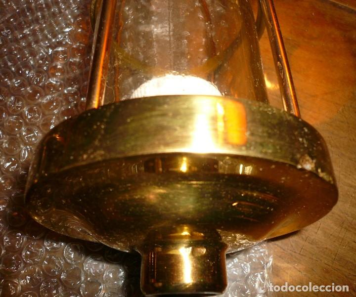 Antigüedades: LUZ DE TECHO CRISTAL TRANSPARENTE - Foto 3 - 116956467