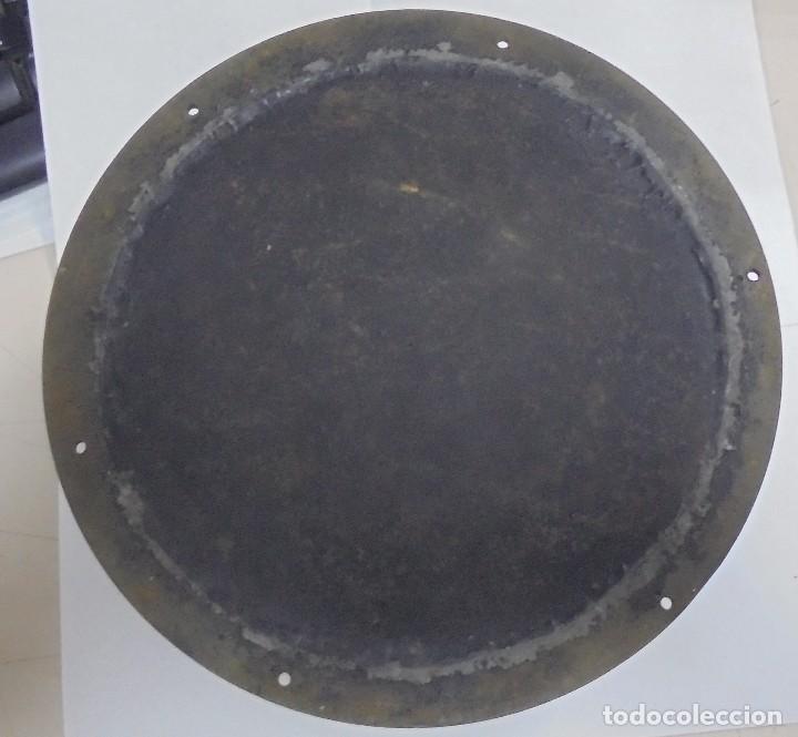 Antigüedades: ANTIGUO RELOJ DE BARCO. 17 CM DIAMETRO. FALTA LLAVE. VER FOTOS - Foto 6 - 117005951