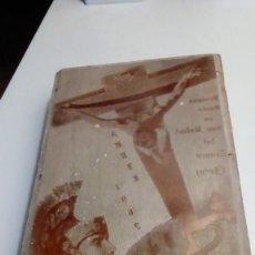 Antigüedades: ANTIGUA PLANCHA IMPRIMIR SEMANA SANTA EL TRANCO JAEN 1965. Lote 117078995