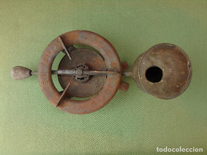 Antigüedades: ANTIGUO INFERNILLO, HORNILLO, QUEMADOR DE ALCOHOL, DE FARMACIA O BOTICA. MARCA: MARS - Foto 4 - 117114811